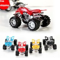 Wholesale Cheap Plastics For Motorcycles - 10pcs Pull Back Beach Toy Motorcycle for Chlid Kids Baby 8X6cm Cheap toy car lowest price free shipping