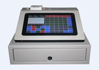 cash register software - POS0901 Inch Capacitive Touch Screen POS Register With POS Software and Cash Drawer Printer