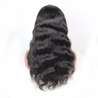 Wholesale Long Brown Wavy Wigs Prices - Cheap Price Full Lace Wigs Wavy Brazilian Human Hair Lace Front Wig 130 Density With Baby Hair For Fashion Women