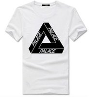 Wholesale Long Basic Top - Palace skateboards classic triangle print mens t shirt for men basic summer noah clothing cotton short sleeve tees tops