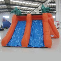 Wholesale Cheap Small Inflatables - AOQI water park equipment mini water slide for kid cheap small water slide for sports game
