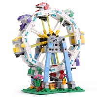 Wholesale Colorful Ferris Wheel - XingBao 01106 The Ferris Wheel Set 660pcs with Original Box for Reselling Lepin Blocks Colorful World Series XB01106 Lepin Toys