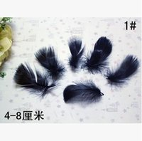 Wholesale Wholes Sale Masks - Natural excellent ostrich feather 1# 4-8cm 100pcs pack whole sale Mask jewellery clothing shoes hat accessories Free shipping