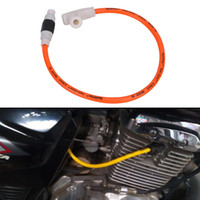Wholesale Ignition Cable Spark - Spark Plug Wire Cable Ignition Lines Assembly Twin Core 50 90 110 125 150 200cc Motorcycle Car Cables