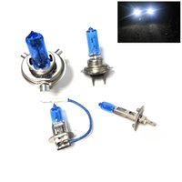 Wholesale Xenon Lights H4 - New 2Pcs 12V H1 H3 H4 H7 H13 Xenon HID Halogen Auto Car Head Light Bulbs Lamp 5000K Auto Parts Car Light Source Accessories