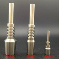 Wholesale tools made china for sale - Group buy best price mm mm mm titanium nail gr2 domeless used nectar nail collector glass kit made in china