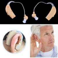 Wholesale Behind Ear Hearing Aids - New Rechargeable Hearing Aids Personal Sound Voice Amplifier Behind The Ear with US Plug or EU Plug