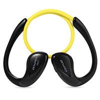 crochets médiatiques achat en gros de-Gros-Awei A880BL sans fil Bluetooth Sport stéréo oreille crochet écouteurs antibruit pour téléphone portable Portable Media Player Sport