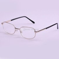 Wholesale New Fashion High quality Men Women metal frame reading glasses to E00392 FASH