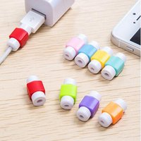 Wholesale Case Data - 2017 Universal cable saver USB data sync charger earphones cord savior Protector case Savers for iphone 8 7 7s 6 6s 5S plus