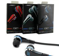 mini mp3 sms al por mayor-Mini 50 Cent Auriculares SMS Audio Street por 50 Cent Auriculares en la oreja Auriculares Precio de fábrica para la tableta del teléfono celular Mp3 Mp4