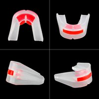 Protective Gear sports mouthguard - SUTENG Boxing Mouthguard Grinding Teeth Guard High Quality Outdoor Sports Basketball Silicone Dental Mouthpiece