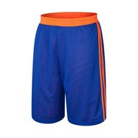 Wholesale Men Double Side Wear - Wholesale-High Quality 2016 Summer Basketball shorts Men Sport Shorts Breathable Double-sided Wear Running Shorts Plus size L-5XL