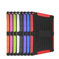 ipad планшеты для продажи оптовых-Горячая распродажа Armor Hybrid Kickstand Защитный чехол для планшета Задняя крышка Противоударная оболочка для iPad 2 3 4 5 6 Mini Air Pro 9,7 '' 12,9 ''