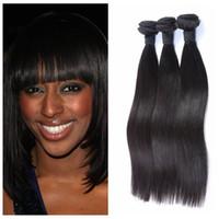 armure péruvienne à vendre achat en gros de-Dégagement Vente !!! Meilleure Qualité Malaisien Indien Malaisien Brésilien Péruvien Cheveux Raides Cheveux Armure Cheveux Dyeable G-EASY