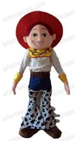 Wholesale Toy Story Cartoon Characters Costumes - AM0459 Toy Story Character Cowgirl Jessie Mascot costume Cartoon mascot party costumes EVA foam mascot fur mascot advertising
