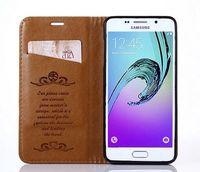 Wholesale Cute Mobile Pouches - Fashion Magnet For Samsung A310 Case Wallet Flip Slim Cute Cover Mobile Phone Case For Samsung Galaxy A3 2016 A310F A310 A3100