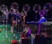 bebek yılbaşı dekorasyonları toptan satış-3 m 30 leds Noel LED dize işık Tatil Balon Bebek ShowerTransparency Doğum Günü Balon Doğum Günü Düğün Parti Dekorasyon Için Mükemmel