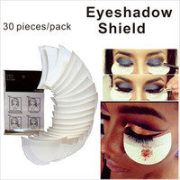 pad applications - 30 Pieces Pack Eye shadow Shield for Eyeshadow Shields Protector Pads Eyes Lips Makeup Application Tool