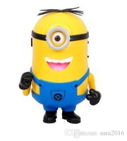 Wholesale Small Portable Radio Speaker - Cartoon Little Yellow People Speakers Despicable Me Minions Card Small Gift Minions Kevin Hifi Outdoor Surround Sealed TF Card