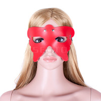 Wholesale 1pcs Fantasy role playing game red Spider Queen slave passion eye mask bdsm