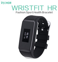spieltag armband großhandel-INCHOR WRISTFIT HR Smart Armband Bluetooth Smart Band Pulsmesser Smart Armband Fitness Tracker Für Andriod IOS 7Days Liefern