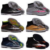 Wholesale Men Street Shoes - Hot Sale Wholesale Football Shoes Men MercurialX Proximo Street Indoor TF Soccer Boots 2016 New Men's Sport Kids Shoes Size 40-45