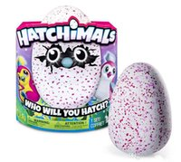 Wholesale Hatchimals live inside of Hatching Egg Interactive Creature Penguala Pink Egg by Spin Master PLAY TO HATCH