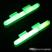 Wholesale Glow Bait Rigs Wholesale - night fishing glow luminous stick with clip for bait casting rod glow clip stick