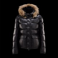 Wholesale Dog Down Coat - Winter Jacket Real Fur Collar Men Down Jacket 100% Pure Duck Down Coat Plus Size Clothing