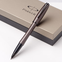 Wholesale Chocolate Metal - Parker Good Quality Chocolate Color Parker Rollerball Pen