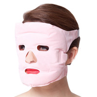 Wholesale Tourmaline Face Mask - Tourmaline + Gel Slim Face Facial Beauty Mask 20pcs bio magents face massager mask magnetic therapy beauty revitalizing mask