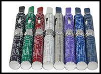 elektronische zigaretten-blister-kits ego großhandel-Ego Dry Herb Vape Pen Vaporizer e Zigarette Blume Kräuter rauchen elektronische Zigarette Vaporizer Rauchen Blister-Kit