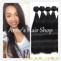 Wholesale Cheap Human Hair Weave Online - Peruvian Virgin Hair Straight 3 Bundle Deals 7A Unprocessed Virgin Peruvian Straight Weave Bundles Cheap Human Hair Weave Online