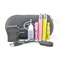 Wholesale Ego C Ecigarette Kit - Electronic Cigarettes eGo ce4 atomizer With Ego c Twist Battery Starter Kit ECigarette ego ce4 vaporizer vape pen Double zipper case Kits