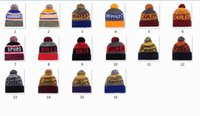 New Beanies basketballl Beanie Sport <b>Bonnet Basketball</b> Pom Knit Chapeaux Sport Cap Bonnets Chapeau Mix Ordre de correspondance All Caps Qualité Top Hat