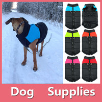 Wholesale Wholesale Winter Jacket Sale - Hot Sale Big Dog Pet Winter Warm Jacket Coat Padded Waterproof Hoodie Puppy Winter Clothes Pet Costume Pet Supplies