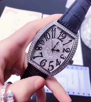 Wholesale Ladies Large Dial Watch - Ladies 2017 - all diamond watches, Franck Muller is a top watch brand, watchcase and exaggerated radian design, lovers watches Large dial