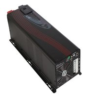 Wholesale Sine Wave Inverter 5kw - Off Grid Single Phase 5KW 24V 48V 110V 220V Pure Sine Wave Inverter Charger for Home