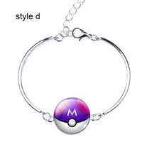 Wholesale Kids Bangle Bracelets Sale - 2016 new hot sale trendy silver color alloy kids bangle for Poke go plus games