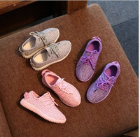 Wholesale 12 Year Old Girls Fashion - 2016 1 to 12 years old fashion kids sneakers good quality children's shoes baby boys and girls casual sports shoes running shoes