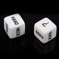 Wholesale fun couples games for sale - Group buy 1 Pair Erotic Dice Game Toy For Bachelor Party Fun Adult Couple Sex Funny toy