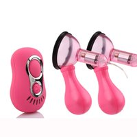 Wholesale Triple Stimulation Sex Toys - nipple stimulation! Vibrating nipple pump, Nipple Vibrator, Nipple Sucker, Breast Massager, 7 functions Vibrator, Sex Toys