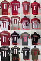2017 2018 Hot Sale 11 Larry Fitzgerald Red Black White Elite Game Limited Stitched Jerseys Men Women Youth Kids Mix Order