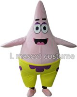 Wholesale Character Patrick - Patrick Mascot Costume Characters Costume Halloween Kids Party Gift Dress ,Free Shipping!