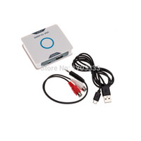 Wholesale Dhl Converter Box - Wholesale 1080P Audio VGA to HDMI HD HDTV Video Converter Box Adapter for PC Laptop DVD DHL Fedex free shipping