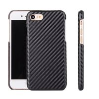 Croco Wood Hard Leather Case para Iphone X 8 7 Plus Samsung Galaxy Note 8 MOTO G4 Plus Crocodilo Snake Knit Weave Tampa de telefone de fibra de carbono