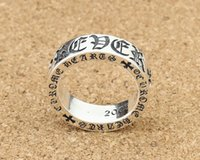 Wholesale Design Ring Vintage - Brand new 925 sterling silver jewelry ring vintage style ch design for men forever wholesale free shipping customized