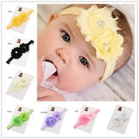 Headbands other other Wholesale 36pcs Flower Hair bow headband Newborn baby Photo Prop Headbands hair flower hair accessories for baby girl Cheap Head Wear