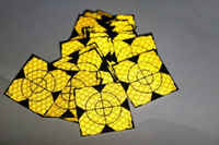 Wholesale Target Total Station - Wholesale-100pcs Yellow Reflector Sheet 40 x 40mm Reflective Tape Target for Total Station
